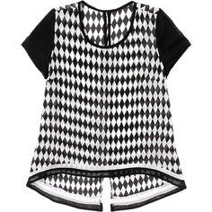 Metropolis. Modelo: G815B0511293LKS. blusa con escote redondo y manga corta.