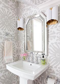 Jennifer Barron Interiors, Powder Room Details