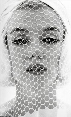 Marilyn in white veil and hat, The Last Sitting for Vogue, Bert Stern, July 1962.
