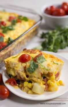 Cheesy Mexican Breakfast Casserole + Fight Hunger - Simple, Delicious, Family-Friendly Recipes, Prepared in Minutes – Eazy Peazy Mealz