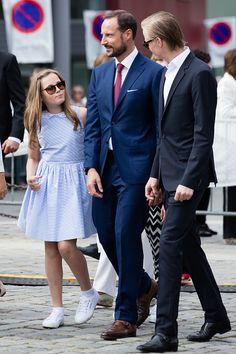 Princess Ingrid Alexandra, Crown Prince Haakon of Norway and Marius Borg Holby - Royal Family Around the World