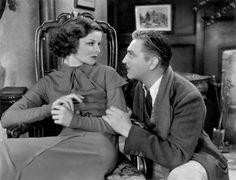 1932 - A Bill Of Divorcement - Katharine Hepburn, John Barrymore #KatharineHepburn #JohnBarrymore #Barrymore
