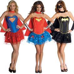 hero costumes- hubby likes this one