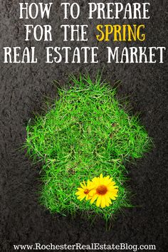 The spring real estate market will be here soon! Check out these excellent, top-notch tips on how to prepare for the spring real estate market.