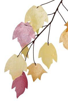 Amazon.com: Asli Arts 14-Inch Autumn Leaves Capiz Chime: Patio, Lawn & Garden