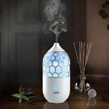 Calily™ Eternity Ultrasonic Essential Oil Diffuser Aromatherapy with Relaxing & Soothing Multi-Color LED Light - Perfect for Home, Office, Spa, Etc. - http://howtomakeastorageshed.com/articles/calily-eternity-ultrasonic-essential-oil-diffuser-aromatherapy-with-relaxing-soothing-multi-color-led-light-perfect-for-home-office-spa-etc/