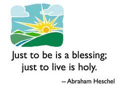 Abraham Heschel Quote