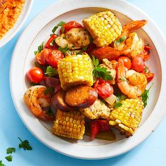 Chicken And Shrimp Recipes, Baked Chicken, Chicken Sausage, Sunday Dinner Recipes, Healthy Dinner Recipes, Healthy Dishes, Healthy Eating, Chicken Thighs Dinner, Fries In The Oven