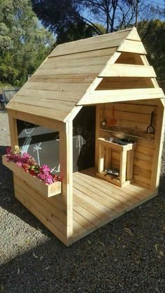 Diy kids outdoor play area ideas boys mud kitchen 35 ideas – make