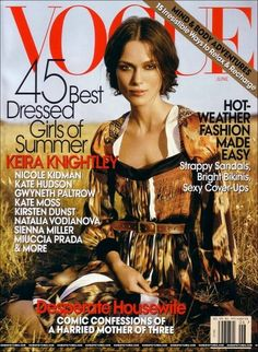 June 2007.  Love this cover story.  It increased my interest in fashion and writing exponentially.