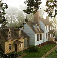 St. George Tucker House, Colonial Williamsburg