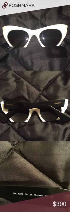 Miu miu shades Limited edition excellent condtion Authentic Miu Miu Accessories Glasses