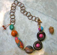 alegria necklace  . . . by marthasrubyacorn on Etsy