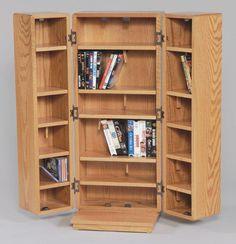 Beau Amish Medium CD Cabinet With Doors