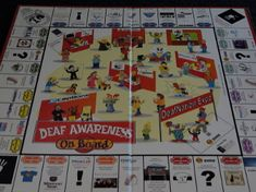http://shop.audbling.com/DEAF-AWARENESS-OnBoard-SHIPPING-IS-INCLUDED-FOR-THIS-ITEM-ONLY-DAOB1.htm   Deaf awareness Mononoply style board ...
