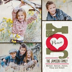 Whittled Warmth - Folded Holiday Photo Cards - Fine Moments - Bright Red - Red : Front