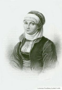 Katharina von Bora, Martin Luther's wife, was a remarkable woman whose life was as unusual and exciting as the great reformer's.  #history