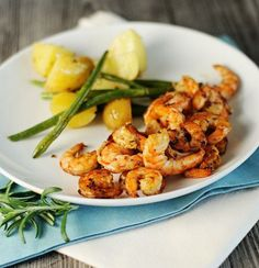 Grilled Lime Shrimp