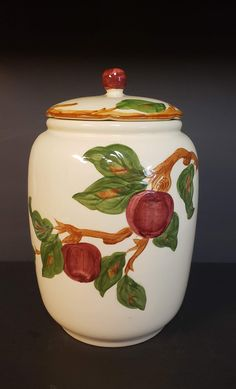 Your place to buy and sell all things handmade Kitchen Ware, Kitchen Decor, Franciscan Ware, Fine China Dinnerware, Painted Stools, Apple Cookies, Apple Decorations, Dining Decor, Kitchen Supplies