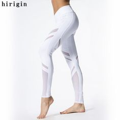 f886773196a76c Mesh Yoga Leggings Women Running Pants – IDRAZ Mesh Yoga Leggings, Sports  Leggings, Workout