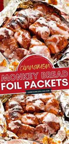 The perfect campfire monkey bread recipe to make for breakfast or brunch! This easy foil packet meal is so delicious yet clean up is so easy. Top them with icing and you will have the most amazing treat! Save this camping meal idea for later! Nutritious Breakfast, Breakfast Smoothies, Healthy Breakfast Recipes, Brunch Recipes, Campfire Monkey Bread, Cinnamon Monkey Bread, Foil Packet Meals, Foil Packets, Quick Bread Recipes