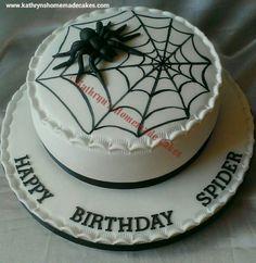 'Spider's' Birthday cake
