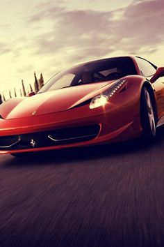 Red Ferrari Speed - #automotive sport cars iPhone wallpaper @mobile9
