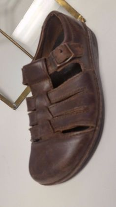 fb9b8de6526f Birkenstock Madeira Brown Leather Fisherman Sandals Women s Size 38 US L7  M5  Birkenstock  SportSandals