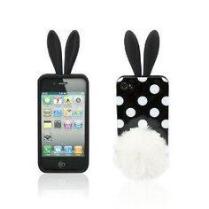 Bushy Rabbit Ear iPhone Case
