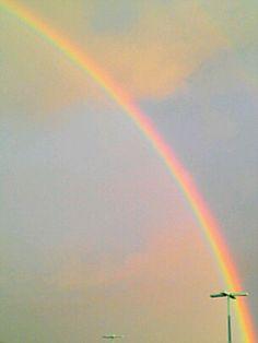 Take time to appreciate rainbows.