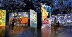 Van Gogh Alive  Del02/05/2013al30/06/2013   Espacio Riesco Santiago Chile