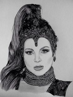 Great new #EvilRegal drawing submitted by @Weonceuponatime