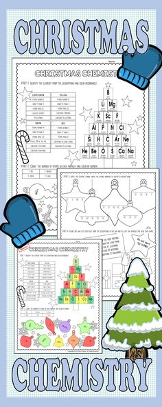 The periodic table review mystery picture worksheet perfect for christmas chemistry urtaz Choice Image
