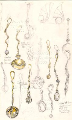 Lucy Copleston ... Exclusive Jewellery ... bead collection