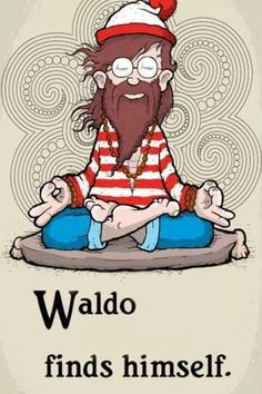 Waldo finds himself ♥