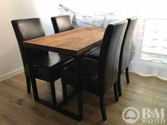 Dining Chairs, Industrial, Wood, Furniture, Home Decor, Decoration Home, Woodwind Instrument, Room Decor, Timber Wood