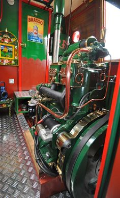 New DM2 engine built and installed by the RN Diesel Engine Company