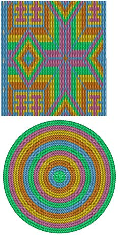 Ideas crochet bag tapestry colombia for 2019 Crochet Chart, Bead Crochet, Crochet Stitches, Cross Stitch Embroidery, Cross Stitch Patterns, Crochet Basket Tutorial, Mochila Crochet, Tapestry Crochet Patterns, Tapestry Bag