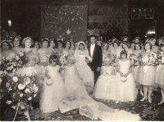 Flora e Bento Munhoz da Rocha no dia do casamento – 23 de setembro de 1929