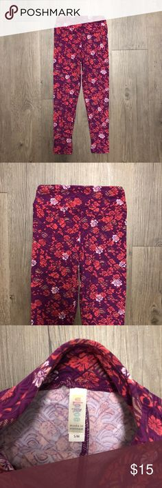 3b1c38a6908065 LuLaRoe Kids Girl's Floral Leggings Size S/M NWOT New without tags. Colors:
