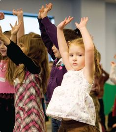 Wiggle It Out - Transition between activities to story time for preschoolers