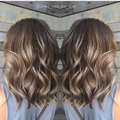 Balayage Medium Wavy Hairstyles - Lovely Medium love the length & hair style *****Length Haircuts