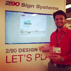 Sign Systems receives a award for their Design Center system @ Sign System, Awards, Let It Be, Signs, Creative, Shop Signs, Sign