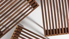 Smilow Furniture's SST 3 - Slatted Stacking Tables
