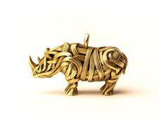 Benjamin Cann, the Rhino Pendant
