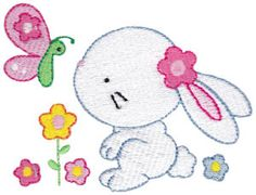 Embroidery | Free Machine Embroidery Designs | Bunnycup Embroidery | Adorable Easter