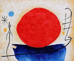 joan miro the red sun painting & joan miro the red sun paintings for sale. Shop for joan miro the red sun paintings & joan miro the red sun painting artwork at discount inc oil paintings, posters, canvas prints, more art on Sale oil painting gallery. Illustrations, Illustration Art, Miro Artist, Joan Miro Paintings, Sun Painting, Red Sun, Sun Art, Ceramics Projects, Spanish Artists