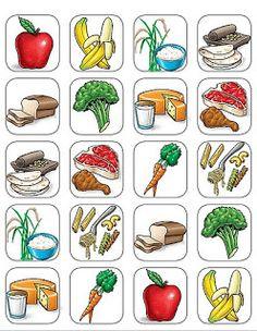 Imagen de comida para imprimir