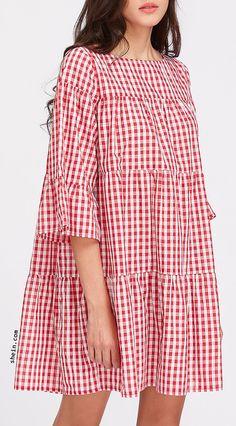 Tent Dress, I Dress, Boho Outfits, Fashion Outfits, Dress Fashion, Women's Fashion, Simple Dresses, Cute Dresses, European Dress
