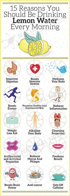 health tips weight loss fitness tips gym workout Health Benefits of lemon water. Learn why you should drink lemon water every morning and how to use it to solve common health problems. Healthy Drinks, Healthy Tips, Healthy Habits, Healthy Choices, How To Stay Healthy, Healthy Weight, Healthy Recipes, Healthy Meals, Healthy Water